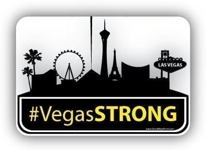 Vegasstrong bumper sticker